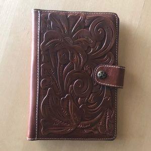 Patricia Nash leather binder